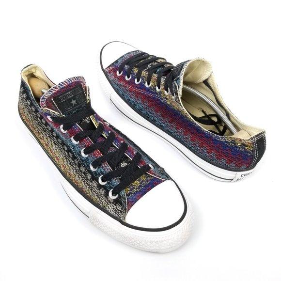 Converse Chuck Taylor Ox Boho Aztec Sneakers 11